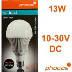 SL-BY13 ΛΑΜΠΑ LED PHOCOS 12V/24V E27 13W COOL WHITE